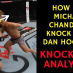 How did Michael Chandler KNOCK OUT Dan Hooker at UFC 257