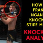 How did Francis Ngannou KNOCK OUT Stipe Miocic at UFC 260