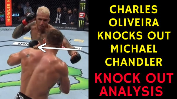 Charles Oliveira KNOCKS OUT Michael Chandler - KO Analysis